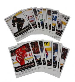 2010-11 HOCKEY -  O-PEE-CHEE SEASON HIGHLIGHTS (15 CARDS)