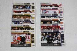 2010-11 HOCKEY -  SCORE SUDDEN DEATH (12 CARDS)