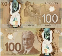 2012 -  2011 POLYMER 100-DOLLAR NOTE, MACKLEM/CARNEY (GUNC)
