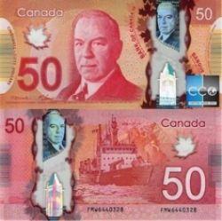 2012 -  2012 POLYMER 50-DOLLAR NOTE, MACKLEM/CARNEY (CUNC)