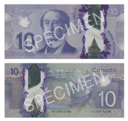 2013 -  2012 POLYMER 10-DOLLAR NOTE, MACKLEM/POLOZ (GUNC)