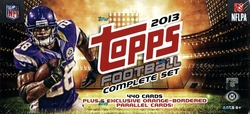 2013 FOOTBALL -  TOPPS COMPLETE SET (440 CARDS)
