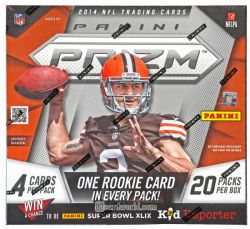 2014 FOOTBALL -  PANINI PRIZM FOOTBALL HOBBY BOX