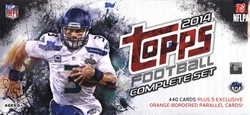 2014 FOOTBALL -  TOPPS FOOTBALL COMPLETE SET (440 CARDS + 5 EXCLUSIVES)