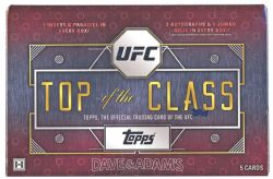 2016 UFC -  TOPPS - TOP OF THE CLASS