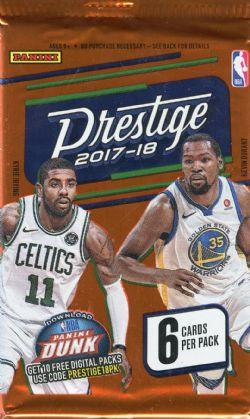 2017-18 BASKETBALL CARDS -  PANINI PRESTIGE (P6/B24)