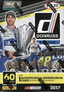 2017 NASCAR -  PANINI DONRUSS - RACING - BLASTER BOX