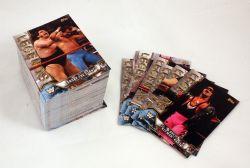 2017 WRESTLING -  TOPPS LEGENDS OF WWE WRESTLING SET (100 CARDS)