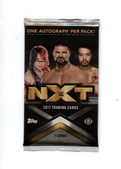 2017 WWE -  TOPPS NXT (P7/B10)