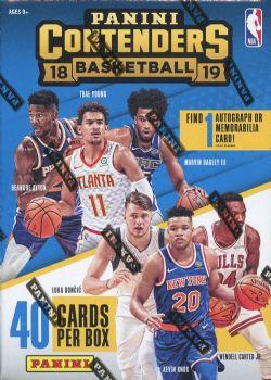 2018-19 BASKETBALL -  PANINI CONTENDERS BLASTER (P8/B5)