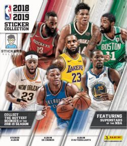 2018-19 BASKETBALL -  PANINI STICKERS ALBUM NBA