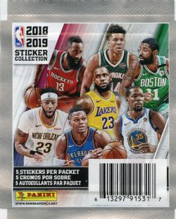 2018-19 BASKETBALL -  PANINI STICKERS NBA (P5/B50)
