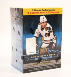 2018-19 HOCKEY -  UPPER DECK SERIES 2 BLASTER (P5/B12)