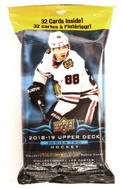 2018-19 HOCKEY -  UPPER DECK SERIES 2 FAT PACK (32)