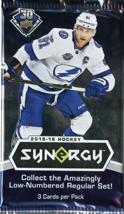 2018-19 HOCKEY -  UPPER DECK SYNERGY (P3/B8/C10)
