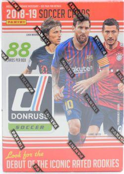 2018-19 SOCCER -  PANINI DONRUSS - BLASTER BOX