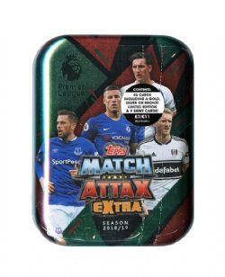 2018-19 SOCCER -  TOPPS MATCH ATTAX EXTRA EPL MINI TIN (B45)