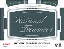 2018 FOOTBALL -  NATIONAL TREASURES - HOBBY BOX
