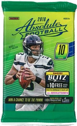 2018 FOOTBALL -  PANINI ABSOLUTE - RETAIL PACK