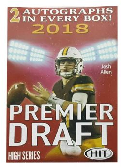 2018 FOOTBALL -  SAGE HIT PREMIER DRAFT HIGH SERIES BLASTER