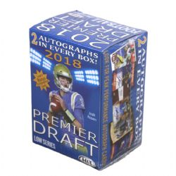 2018 FOOTBALL -  SAGE HIT PREMIER DRAFT LOW SERIES FOOTBALL BLASTER BOX