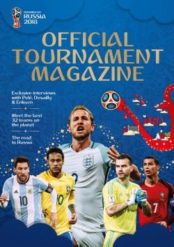 2018 SOCCER -  OFFICIAL TOURNAMENT MAGAZINE -  2018 FIFA WORLD CUP RUSSIA