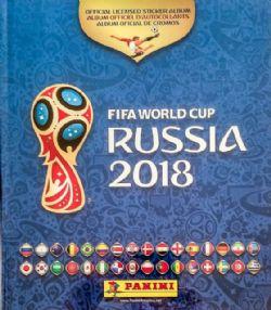 2018 SOCCER -  PANINI STICKERS ALBUM (HARDCOVER) -  2018 FIFA WORLD CUP RUSSIA