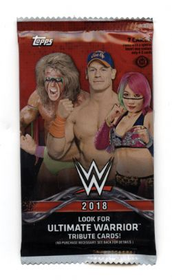 2018 WWE -  TOPPS ULTIMATE WARRIOR (P7/B24)