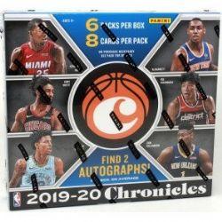 2019-20 BASKETBALL -  PANINI CHRONICLES (P8/B6)