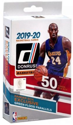 2019-20 BASKETBALL -  PANINI DONRUSS - HANGER BOX (B50)