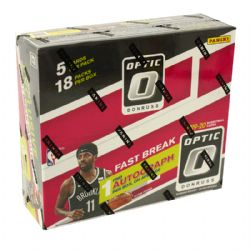 2019-20 BASKETBALL -  PANINI DONRUSS OPTIC BASKETBALL FAST BREAK EDITION BOX (P5/B18)