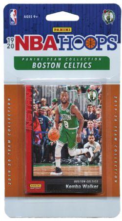2019-20 BASKETBALL -  PANINI NBA HOOPS BOSTON CELTICS TEAM SET (10 CARDS)