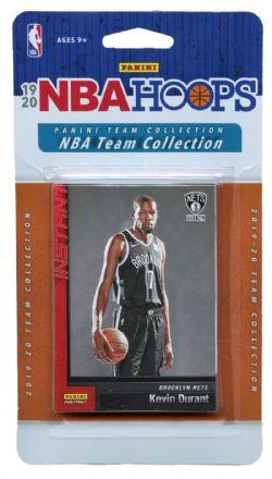 2019-20 BASKETBALL -  PANINI NBA HOOPS BROOKLYN NETS TEAM SET (12 CARDS)