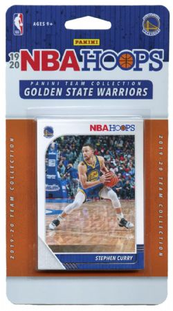 2019-20 BASKETBALL -  PANINI NBA HOOPS GOLDEN STATE WARRIORS TEAM SET (10 CARDS)