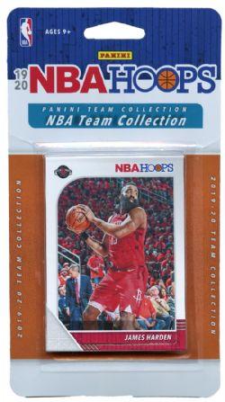 2019-20 BASKETBALL -  PANINI NBA HOOPS HOUSTON ROCKETS TEAM SET (8 CARDS)