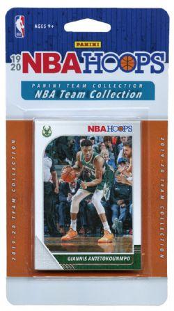 2019-20 BASKETBALL -  PANINI NBA HOOPS MILWAUKEE BUCKS TEAM SET (8 CARDS)