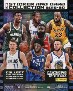 2019-20 BASKETBALL -  PANINI STICKERS ALBUM NBA