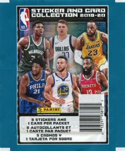 2019-20 BASKETBALL -  PANINI STICKERS NBA (P5/B50)