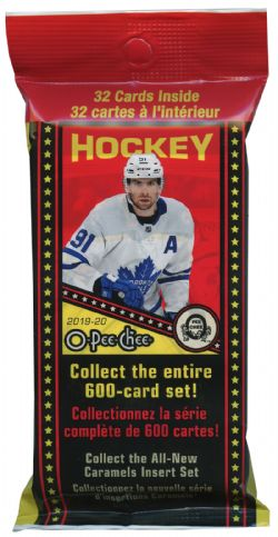 2019-20 HOCKEY CARDS -  O-PEE-CHEE FAT PACK (P32/B18)