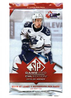 2019-20 HOCKEY -  SP GAME USED CHL EDITION (P3/B4)