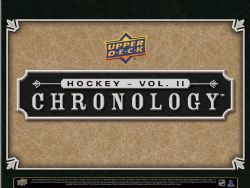 2019-20 HOCKEY -  UPPER DECK CHRONOLOGY VOLUME 2 (P4/B1)