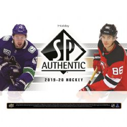 2019-20 HOCKEY -  UPPER DECK SP AUTHENTIC (P5/B18/C16)