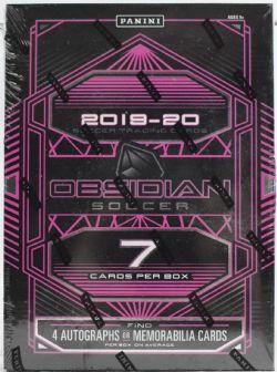 2019-20 SOCCER -  PANINI OBSIDIAN - HOBBY BOX