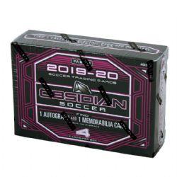 2019-20 SOCCER -  PANINI OBSIDIAN SOCCER TMALL EDITION BOX (4 CARDS)