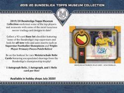 2019-20 SOCCER -  TOPPS - BUNDESLIGA MUSEUM COLLECTION (P4)