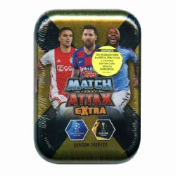 2019-20 SOCCER -  TOPPS MATCH ATTAX EXTRA MINI TIN (B45)