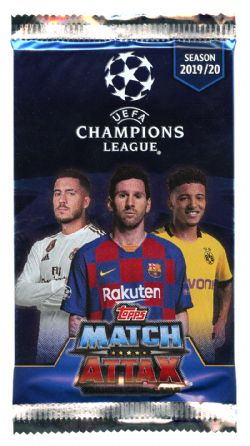 2019-20 SOCCER -  TOPPS MATCH ATTAX UEFA (P6/B30)