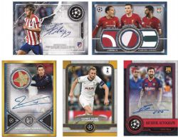 2019-20 -  TOPPS MUSEUM COLLECTION UEFA (P8) -  SOCCER