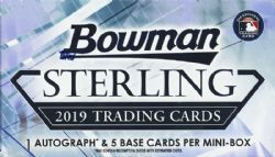 2019 BASEBALL -  BOWMAN STERLING (P6/B5)