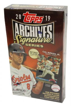 2019 BASEBALL -  TOPPS ARCHIVES SIGNATURE (P1) - RETIRED PLAYER